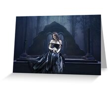 Blue Moment Greeting Card