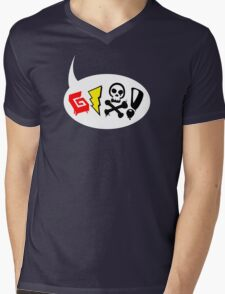 Say Mens V-Neck T-Shirt