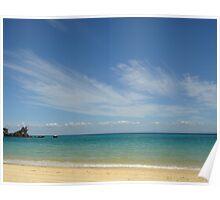 Shipwreck - off the coast of Moreton Island, Queensland, Australia Poster