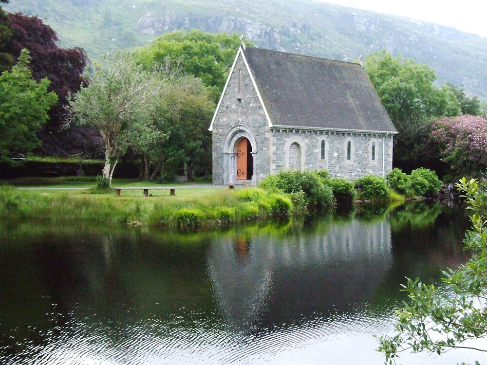 Gougane Barra Reflections by khynes