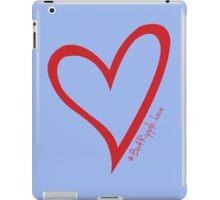 #BeARipple...LOVE Red Heart on Lavender iPad Case/Skin