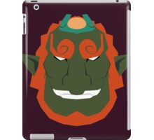 Ganon / Ganondorf (The Legend of Zelda, The Windwaker) iPad Case/Skin