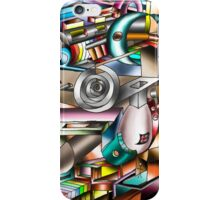 The illusion of City life iPhone Case/Skin