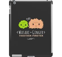 Wasabi and Ginger Together Forever iPad Case/Skin