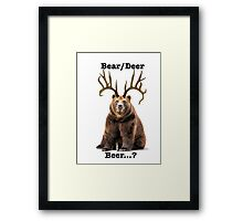 Beer? 2 Framed Print
