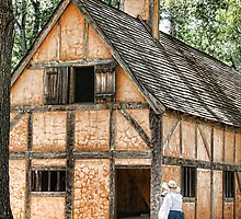 Jamestown Settlement by Patricia Montgomery