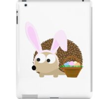 Cute Easter Hedgehog iPad Case/Skin