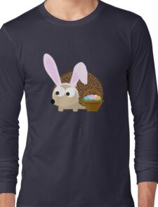 Cute Easter Hedgehog Long Sleeve T-Shirt