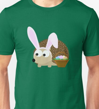 Cute Easter Hedgehog Unisex T-Shirt
