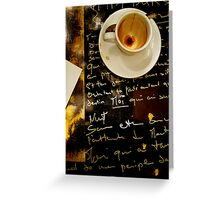 Write To Me (in any language) Greeting Card