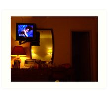 love in a motel room Art Print