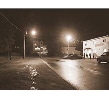small town friday night Photographic Print