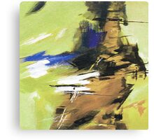 Soothing Abstract Canvas Print