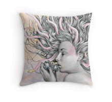 Medusa's Lament  Throw Pillow