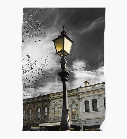 Lamp Mysticism Poster