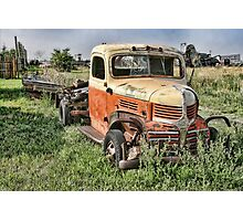 If you rest, you rust. Photographic Print