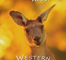 Kangaroo - MAD About Western Australia (iPhone Cases) by Dave Catley