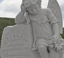 Tombstone for a little Angel by Christine Till  @    CT-Graphics