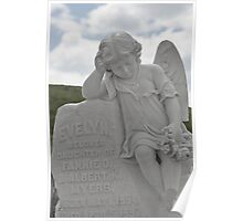 Tombstone for a little Angel Poster