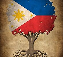 Tree of Life with Filipino Flag by Jeff Bartels