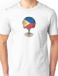 Tree of Life with Filipino Flag Unisex T-Shirt