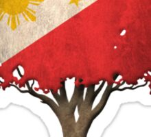 Tree of Life with Filipino Flag Sticker