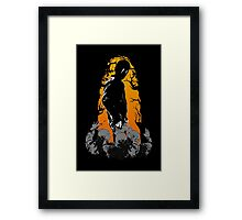 To cool for Zombies Framed Print