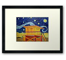 Vincent on the Beach Framed Print