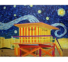 Vincent on the Beach Photographic Print