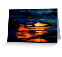 Reflected Glory Greeting Card