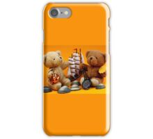 Bears in Love With Frisian Tea and Waffles iPhone Case/Skin