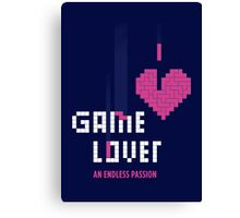 Game Lover Canvas Print