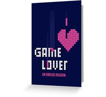 Game Lover Greeting Card