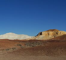 The Breakaways, Coober Pedy,Outback South Australia by Lisa Evans