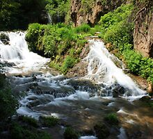 Lower Roughlock Falls by Julie's Camera Creations <><