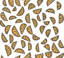 Orange Segments by HopSkipJump