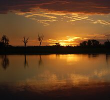 Yellow Waters Sunset by Timana
