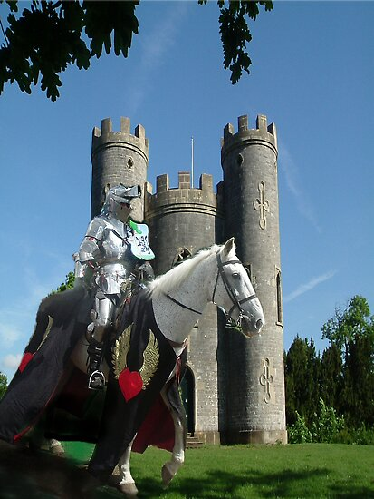 Quot Blaise Castle S Knight Quot By Dawn B Davies Mcininch Redbubble