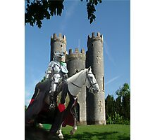 Blaise Castle's Knight Photographic Print