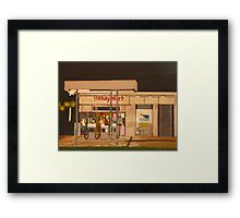 Handy Mart Framed Print