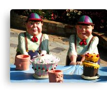 Tweedledum and Tweedledee Canvas Print