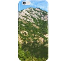 Lean In - A Mountain Lake Impression iPhone Case/Skin