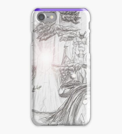 Mystical Forest - Final Fantasy XI Inspired Sketch iPhone Case/Skin