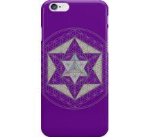 Flower of Life, Vector Equilibrium, Merkaba   iPhone Case/Skin