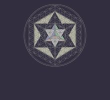 Flower of Life, Vector Equilibrium, Merkaba   T-Shirt