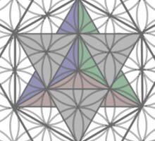 Flower of Life, Vector Equilibrium, Merkaba   Sticker