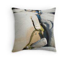 Rock Pools Throw Pillow