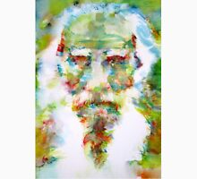 LEO TOLSTOY - watercolor portrait Unisex T-Shirt