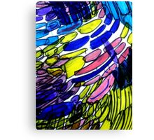 untitled (blue & yellow) Canvas Print