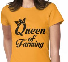 Queen of farming Womens Fitted T-Shirt